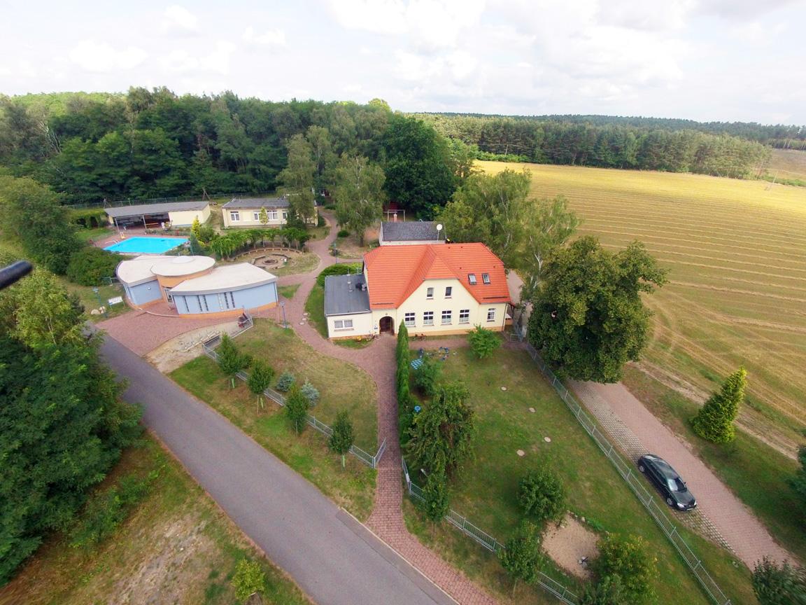 Luftbild Schullandheim Jerischke